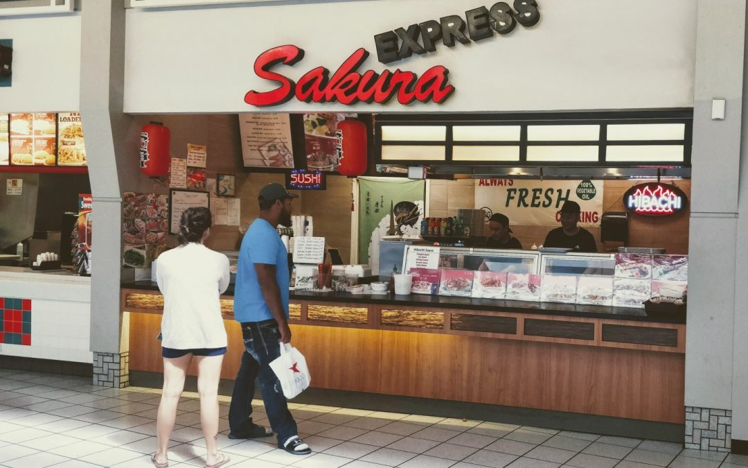 Sakura Express Dayton Mall. Always Fresh Cooking.
